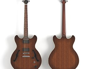 Ibanez as53 semi-hollow electric guitar 3D