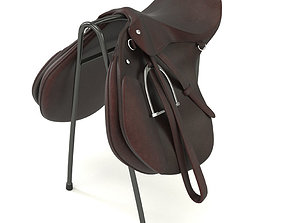 3D model Horse saddle