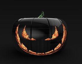 3D Evil Pumpkin