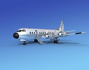 Lockheed L-188 Electra HP Corporate 1 3D model