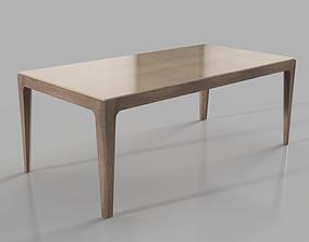 Porada Ziggy Dining Table 3D model