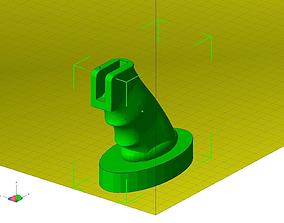AR-15 palmrest 3D printable model