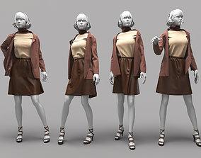 manequin 3D Woman Mannequin 16