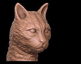 3D print model cat head