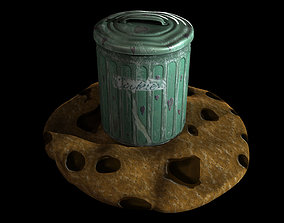 3D model Biscuit tin