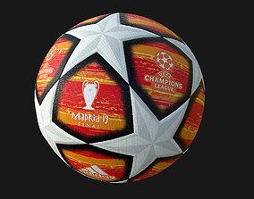 3D model Ball Champions League 2019 PBR