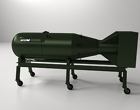 3D model Little Boy Atomic Bomb