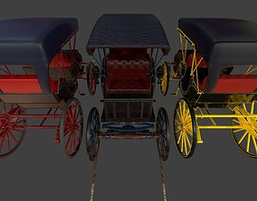 Carriage - PBR 3D model