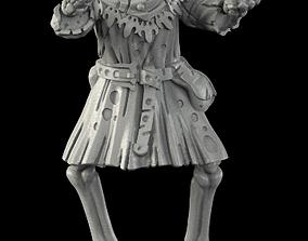 Medieval Skeleton 4 disarmed 3D print model