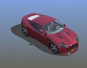 Roadster Sports Car 3D