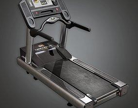 3D asset SAG - Gym Treadmill 01a - PBR Game Ready