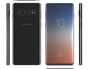 3D model Samsung Galaxy S10