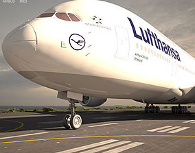 3D model Airbus A380 airbus