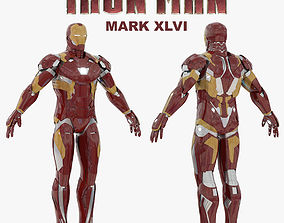 Iron Man Mark XLVI 3D