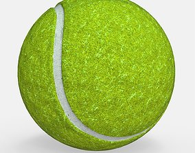 Tennis Ball -- Game Ready - VR AR 3D asset low-poly