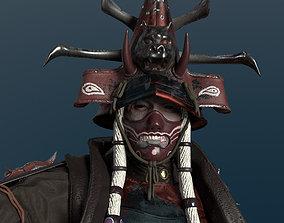 Undead Samurai 3D asset realtime