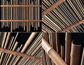 Bamboo gutter decor n1 3D