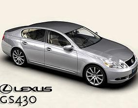 3D Lexus GS300 430