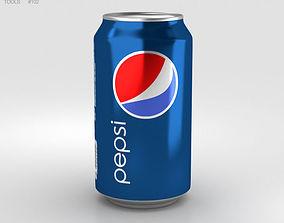 Pepsi Can 12 FL 3D model