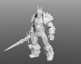 3D printable model Lich King Resculpted 45mb