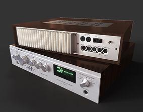 3D Soviet amplifier Radiotehnika U-101