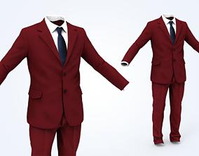 Business Suit Man 3D model VR / AR ready