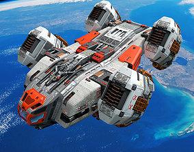 SF Space Shuttle 3D model realtime