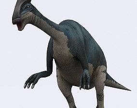 3DRT - Dinosaurs - Parasaurolophus animated