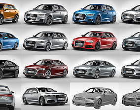 3D Audi Passenger Cars 2017 - 2019 standard