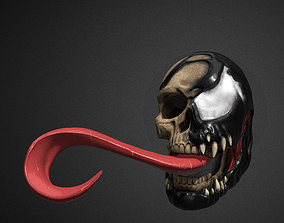Venom Skull 3D print model