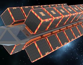3D asset Cargo Spaceship