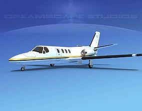 Cessna 500 Citation I V09 3D model