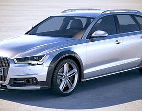 3D model Audi A6 Allroad 2015-2018
