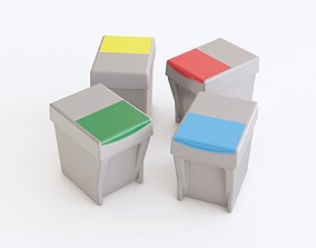 3D Recycle containers