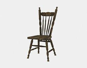 3D model Farmhouse chair rustic