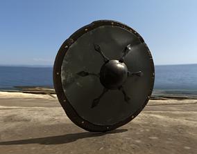 Viking Shields - Volume Four - Outer Bolted 3D model 2