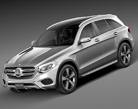 3D model Mercedes-Benz GLC 2016