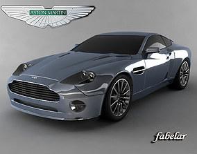 3D model Aston Martin V12 Vanquish