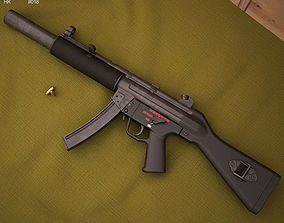 3D model Heckler And Koch MP5SD