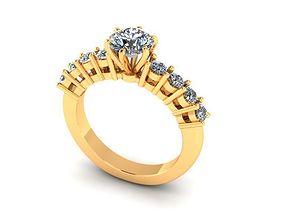 3D printable model Wedding Ring R007