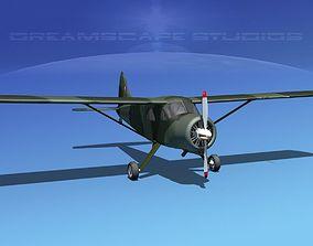 3D Dehaviland DH-2 Beaver RBA