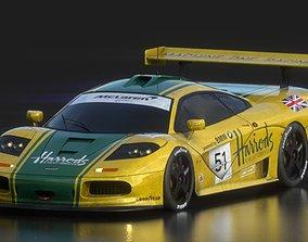 McLaren F1 GTR Harrods 3D