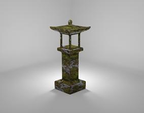 Asian Shrine 3D model