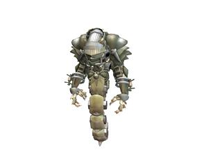 3D asset Droid