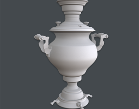 Samovar Base Mesh 3D model