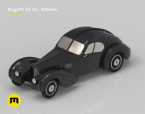 3D printable model Bugatti 57cs atlantic