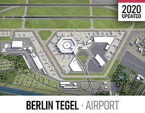 3D asset Berlin Tegel Airport