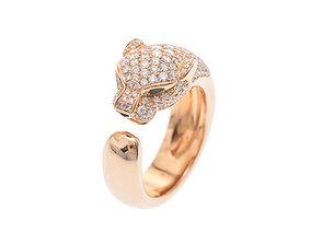3D print model Phantere Ring Cartier