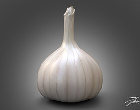 Garlic 3D asset game-ready