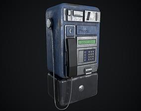 3D model Payphone Dirty